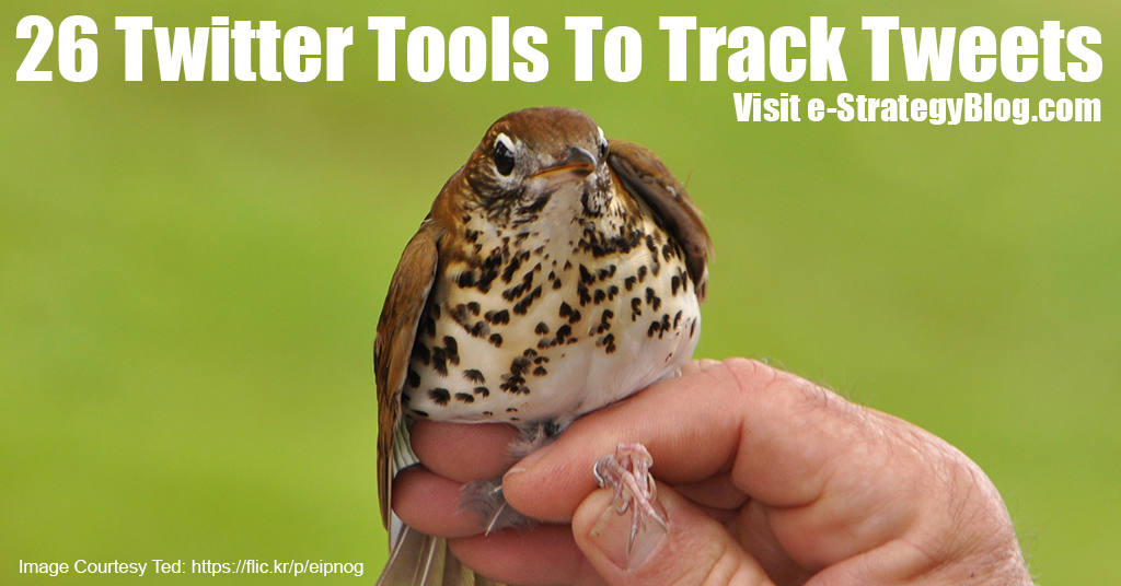 Tools To Track Tweets